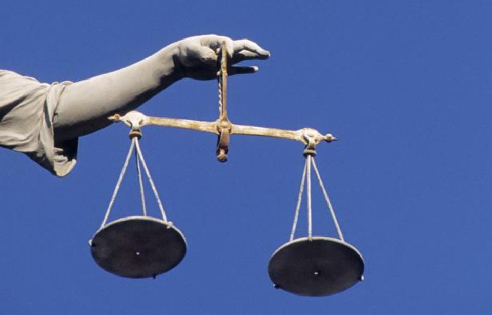 La balance de la justice. — SUPERSTOCK/SUPERSTOCK/SIPA
