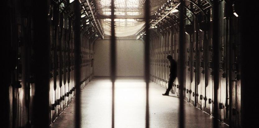 photo d'une vue de la prison depuis une cellule