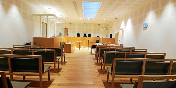 salle d'audience d'un tribunal